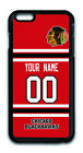 NHL Chicago Blackhawks Personalized Name/Number iPhone iPod Case 160326 $12.99 USD on eBay