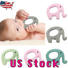 Baby Elephant Silicone Mitts Teething Mitten Glove Wrapper Teether Toy Gift US