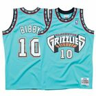 Mike Bibby Vancouver Grizzlies Mitchell  Ness 1998 99 Swingman Jersey Teal