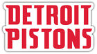 "Detroit Pistons  NBA Basketball Car Bumper Sticker Decal ""SIZES"" ID:9 on eBay"