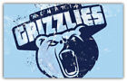 "Memphis Grizzlies  NBA Basketball Car Bumper Sticker Decal ""SIZES"" ID:2 on eBay"