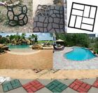 DIY Driveway Paving Pavement Mold Concrete Stepping Stone Pathmate Garden Mould image