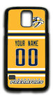 NHL Nashville Predators Personalized Name/Number Samsung Phone Case 161606 $12.99 USD on eBay