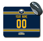 NHL Buffalo Sabres Personalized Name/Number Mouse Pad 160506 $14.99 USD on eBay