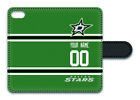 NHL Dallas Stars Personalized Name/Number iPhone iPod Wallet Case 162905 $17.99 USD on eBay