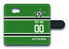 NHL Dallas Stars Personalized Name/Number Samsung Phone Wallet Case 162905 $15.99 USD on eBay