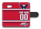 NHL Washington Capitals Custom Name/Number Samsung Phone Wallet Case 160606 $15.99 USD on eBay