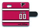 NFL Atlanta Falcons Personalized Name/Number Samsung Phone Wallet Case 152514 $15.99 USD on eBay