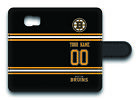 NHL Boston Bruins Personalized Name/Number Samsung Phone Wallet Case 162509 $15.99 USD on eBay