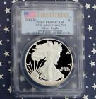 2011 W PCGS Proof 69 Deep Cameo First Strike Silver Eagle  from 25th Anniv Set
