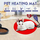 30cm Bite-resistant Pet Heating Pad Electric Warmer Mat Dog Cat Blanket Noted