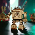 6 Different Rotatable Robot 3D Wooden Puzzle Adult Assembly Puzzle + Plays Music