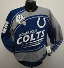 INDIANAPOLIS COLTS JACKET SENTINEL NFL FOOTBALL COTTON TWILL ANDREW LUCK WAYNE on eBay