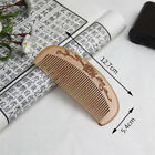 Natural Peach Wood Comb Head Massage Hair Care Wooden Tools Beauty Accessories