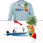 Fishing Shirt Center Console Boats Florida Flag