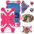 "For 8"" 8.4 inch Tablet Universal Shockproof Soft Silicone Gel Stand Case Cover"