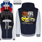 Dodge Charger Varsity Hoodie Jacket Licenced Mopar Classic American Muscle Car $60.18 USD on eBay