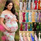 Women Maternity Dress Maxi Long Ladies Wedding Gown Pregnancy Photography Props