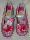 Toddler Girl's Barbie Silver/Pink Sneaker - Assorted Sizes