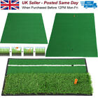 Golf Putting Training Aid Indoor Portable Green Practice Mat Trainer Cup Hole UK