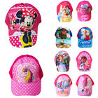 My little pony Frozen Moana Princess Girls Kids Sun Hats Cartoon Baseball Cap image