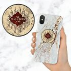 Harry Potter Marauder's Map Hogwarts Retractable Phone Grip Ring Holder Stand