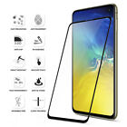 For Samsung Galaxy S10e Poetic [HD Clear] Tempered Glass Screen Protector Black