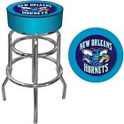 "New Orleans Hornets Swivel Bar Stool 31"" Officially Licensed Backless Padded on eBay"