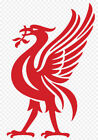 "Liver Bird Vinyl Decal Sticker Large 18"" Liver Bird Liverpool Logo Football"