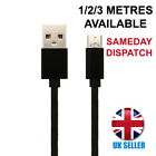 MOTOROLA MOTO G4 PLUS PHONE CHARGER CABLE MICRO USB FAST CHARGING LEAD 1M/2M/3M