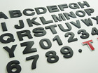 1 PC Top Quality Car Auto 3D Chrome Letters or Numbers Emblem Badge Sticker