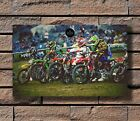 H362 Art Motocross Dirt Bike Jump Sport Poster Hot Gift 14x21 24x36