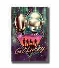 H794 New Daft Punk Get Lucky DJ Rap Hip Hop Music Fabric Poster Art, used for sale  China
