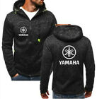 New Hot YAMAHA motorcycle Hoodie Men Jacket Full Sweatshirts warm Coat