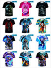 3D Print T-Shirts Dragon Ball Z Goku Mens Womens Tee Anime t shirt Casual Tops
