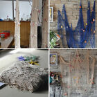 Внешний вид - Mediterranean Shooting Wall Bar Seaside Beach Party Shells Fishing Net Decor HOT