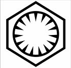 First Order Galactic Empire Logo Decal Sticker Phasma Star Wars Stormtroopers $3.99 USD on eBay