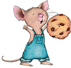 Brylane Home Decor Catalog Die Cut Vinyl Decal Sticker If You Give A Mouse A Cookie - 3 Inch To 12 Inch
