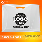 Personalized Custom Printed Plastic Carrier Bags with own logo Premium