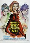 Dr. No Movie Art Silk Poster 12x18 24x36 $13.26 CAD on eBay