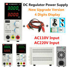 Variable DC Power Supply Adjustable Regulator 4 Digits Display High Precision
