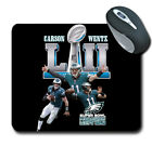 2018 Super Bowl Champions Philadelphia Eagles Carson Wentz Mouse Pad 151912 $12.99 USD on eBay