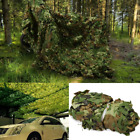 Lightweight Woodland Camo Net Camouflage Netting Military Hunting Camping