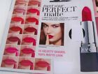 Avon.MATTE LipSTICK(full-size)VARIOUS(1st Post)chus1 perfect'True'Color.New3.99p
