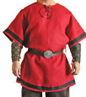 New Medieval Tunic Reenactment Fancy Look Nice Best Design Red Color