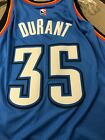 Kevin Durant #35 NBA Swingman Jersey Mens Blue Adidas Oklahoma City Thunder on eBay