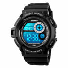 Men's Army S-SHOCK Sports Digital Watch Date Waterproof Colorful LED Chronograph