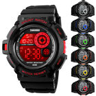 Men's Army S-SHOCK Sports Digital Watch Date Waterproof Colorful LED Chronograph image