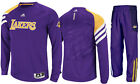 New Adidas Los Angeles LA Lakers On Court Basketball Warm Up Suit Pant Shirt Set on Ebay