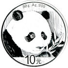 1oz bzw. 30g Panda 1995 - 2019 China 10 Yuan 999/1000 ag Silber - China Mint
